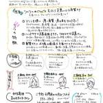 ●手書きチラシ裏
